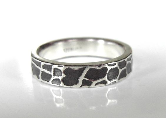 Giraffe Ring. YES PLEASE Handmade Giraffe Ring in Recycled Sterling Silver by BentMLjewelry, $50.00