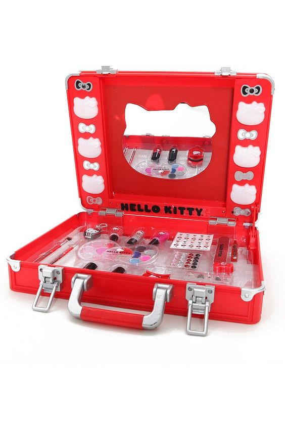 Hello Kitty Light Up Vanity Makeup Set Was 45 50 Now