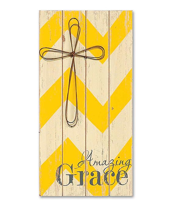 Look at this 'Amazing Grace' Wood Sign on #zulily today!