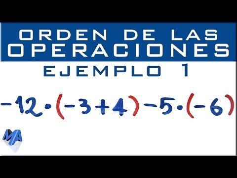 3 Operaciones Combinadas Con Números Enteros Suma Resta Multiplicación División Y Paréntesis Youtub Suma Y Resta Numeros Enteros Cursos De Matematicas