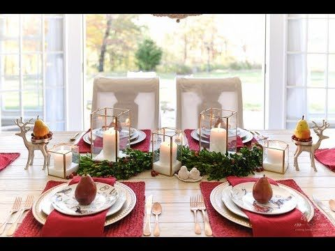 How To Set An Informal Table 12 Days Of Christmas Table Setting Christmas Table Decorations Christmas Table Settings Christmas Table