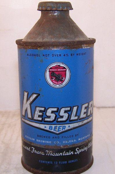 Kessler Beer, USBC 171-16 Grade 1-/2+ – Beer Cans Plus