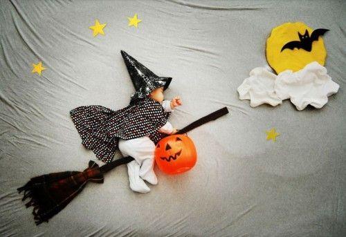 ハロウィン 寝相アート 1