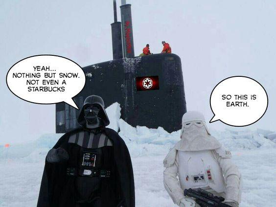 Star Wars on Earth.