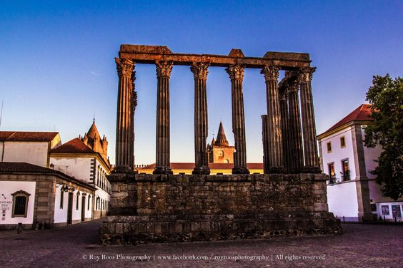 Templo Romano, Évora, Portugal - Roy Roos Photography  #Portugal# #gourmet# #Shoponline#