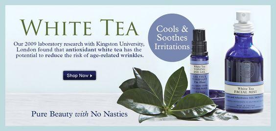 Real White Tea Benefits  https://us.nyrorganic.com/shop/lorirockriver/area/shop-online/  #whitetea
