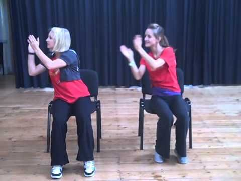 Chair Based Dance Youtube Bed Workout Movement Idea Senior Activities