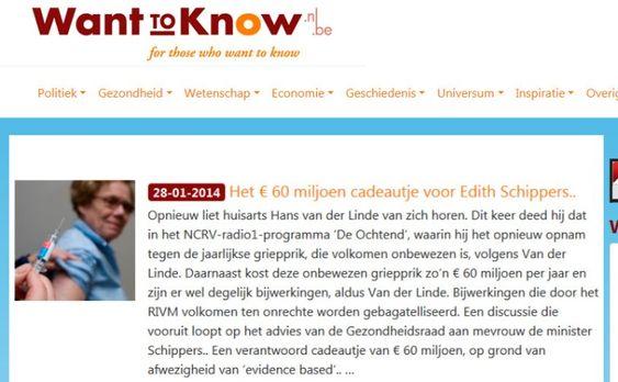 Van 13% → 100%; verplicht vaccineren verplegend personeel..?? – WantToKnow.nl