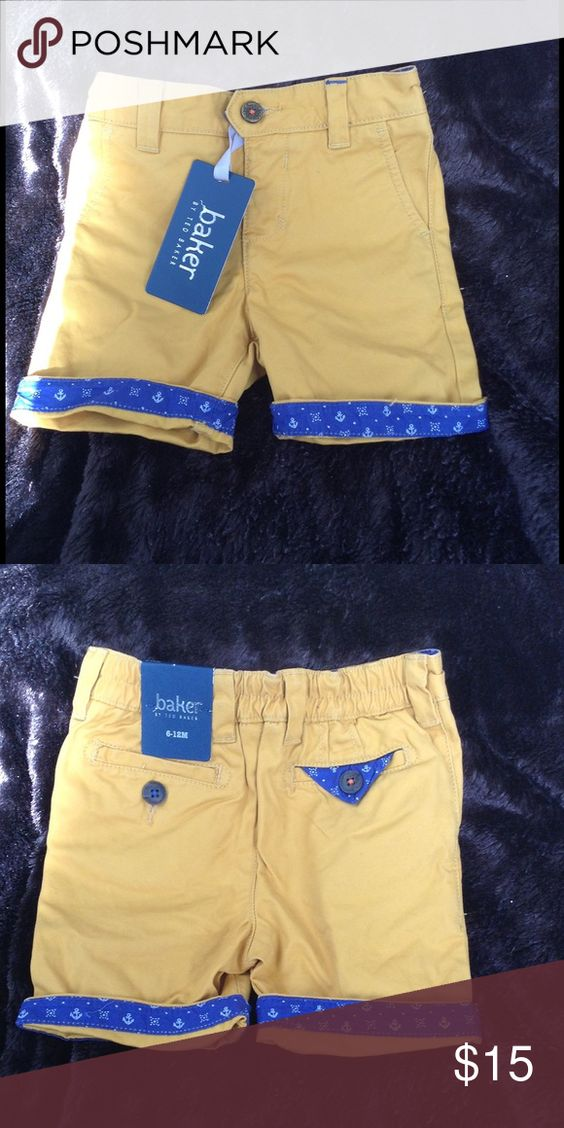 Ted Baker Sailor Shorts 6-12 months Check out my other items😉 Ted Baker Bottoms Shorts