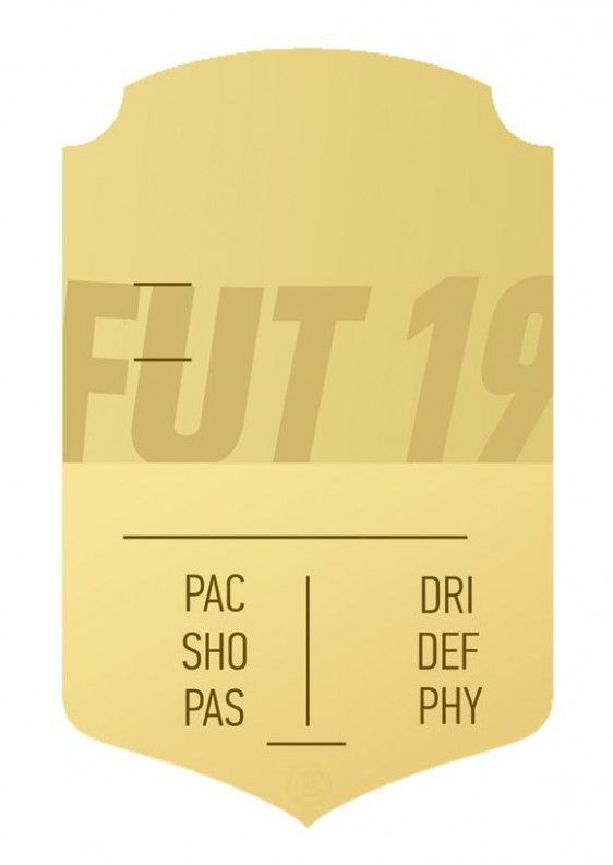 Blank Fifa 10 Card Fifa Card Download Birthday Cards Cards