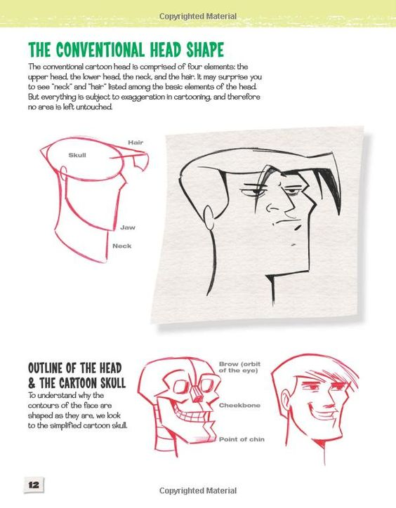 Animation Character Design Books Pdf : Cartoon faces how to draw heads features expressions