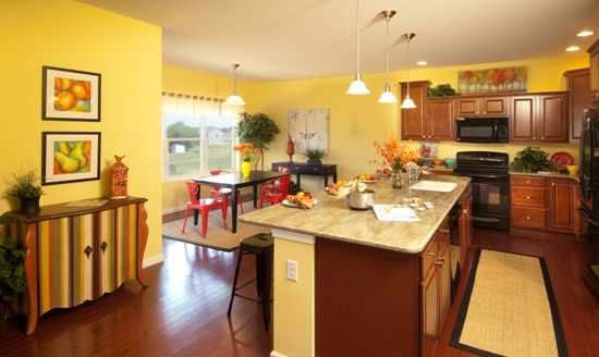 Kitchen and Bright Breakfast Area #Lebanonnewhomes