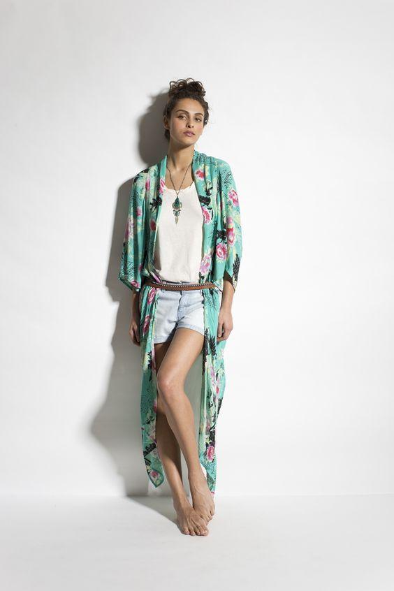 Always a dreamer kimono - Elvis 2 shorts