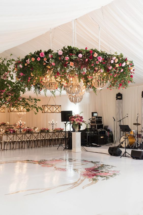 pista de ball boda