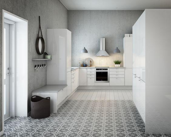 Gulvbelegg kjøkken