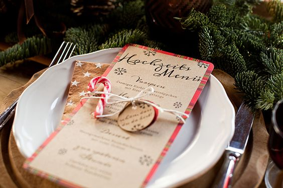 Weihnachtshochzeit | Friedatheres.com