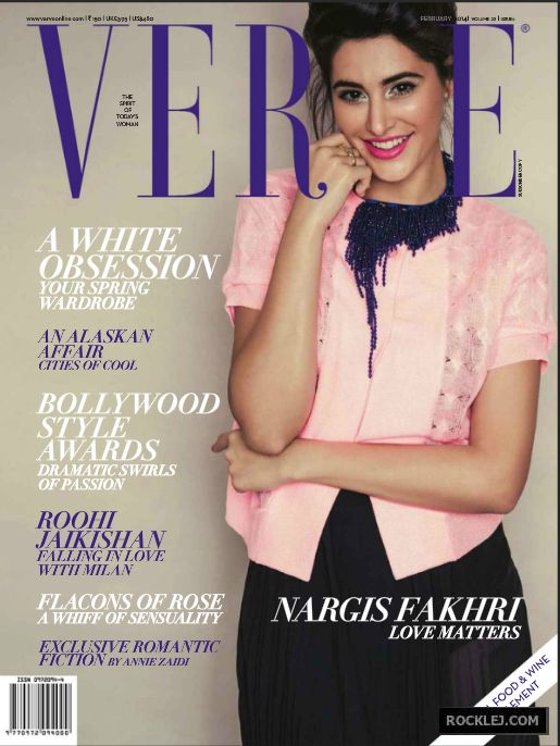 Nargis Fakhri Hot Photo Shoot for Verve February 2014