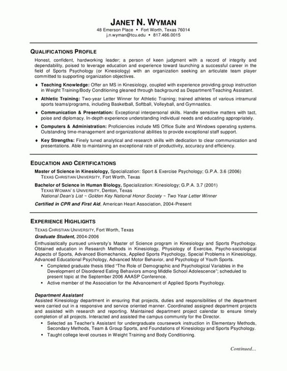 Example Of Objective In Resume For Sales Lady Resume Pinterest - resume examples for college graduates