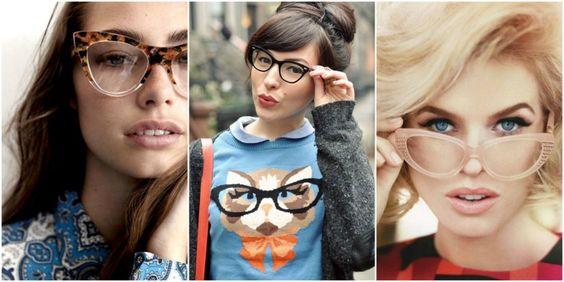 Óculos de grau gatinho | luvmay.com.br