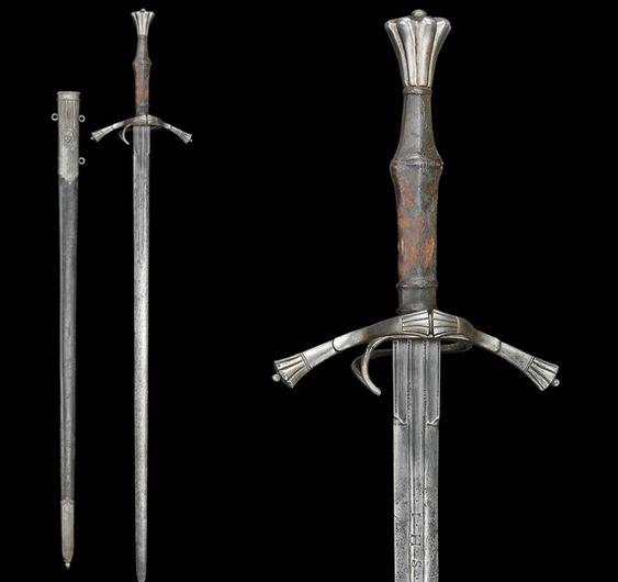 German longsword, circa 1520