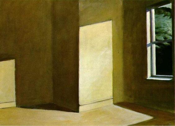 Quello che vorrei dipingere  è la luce del sole sulla parete  di una casa.  E.  Hopper  #buongiorno #ArtLovers