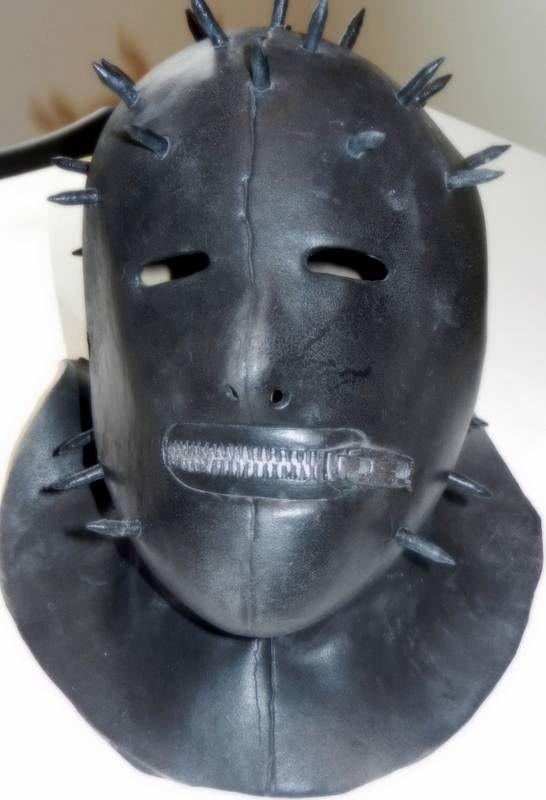 Slipknot, Masks and Latex on Pinterest