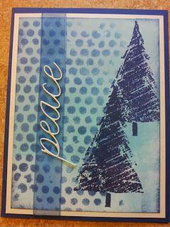 Piece of Cake... Handmade Cards, Christmas, Distress Inks, Greeting Card, Hero Arts, Memory Box, Penny Black, POC, Stencils, Tim Holtz, card