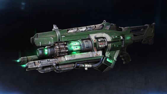 Other weapon designs that I've done for Unreal Tournament.  Credit to Pete Hayes…