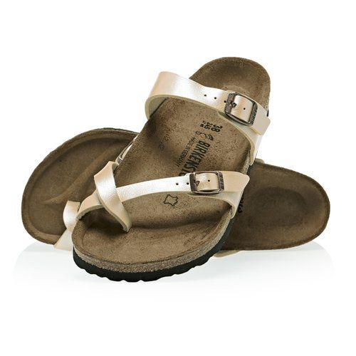 Birkenstock Mayari Birko Flor Sandals   Sandals, Birkenstock