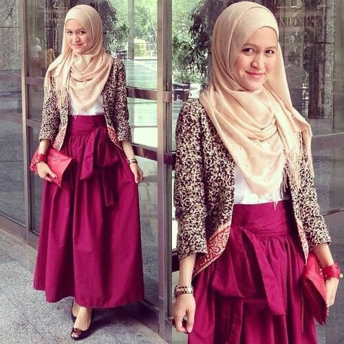 Hijabs Fashion Inspiration And Skirts On Pinterest