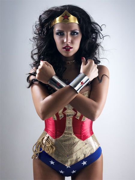 12 collabs of christmas superwoman costume