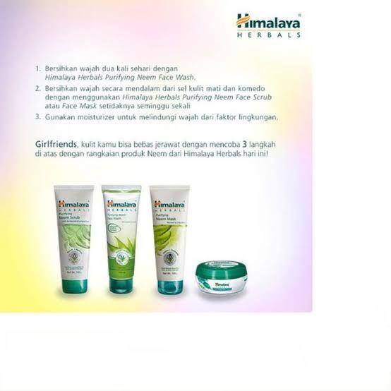 Cream Himalaya Herbal Untuk Jerawat