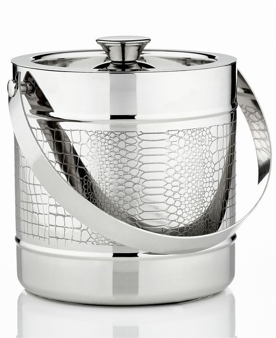 Croco Ice Bucket   Godinger