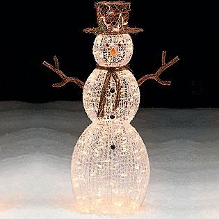 Trim a home 50 lighted snowman outdoor christmas decoration kohl 39 s sear 39 s pinterest - Trim a home outdoor christmas decorations ...