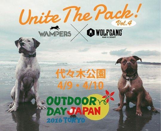 Unite The Pack Vol 4 Wolfgang Man Beastは 殺処分ゼロ 犬や動物を捨てる人を無くす ことを目指し 捨て犬の保護活動を行うnpo法人 Wampers をサポートしています Unite The Pack と題し 商品の展示販売に合わせて 啓蒙活動 募金活動 里親募集な I