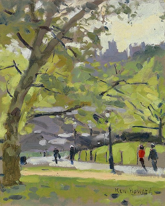 Ken Howard's Paintings - Available to purchase online