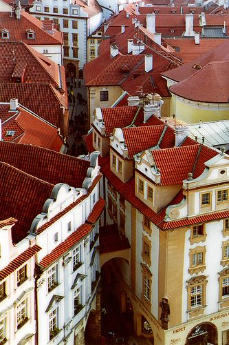 Czech Republic - Prague - Old Town (by Darrell Godliman) » A great city with or without a sidekick!! Your pins are beautiful @Jenna Francisco, thanks for participating in #PinUpLive tonight!!
