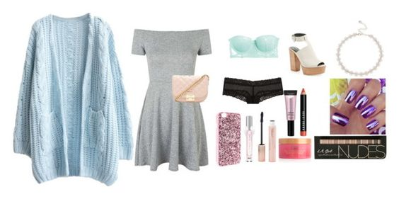 """""""walk in the park date"""" by anwen-rosqvist ❤ liked on Polyvore featuring Topshop, Heidi Klum Intimates, Victoria's Secret, Forever 21, Beauty Rush, Bobbi Brown Cosmetics, Lipsy and Rebecca Minkoff"""