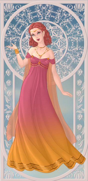Eos, déesse de l'aurore (on azalea's dolls):