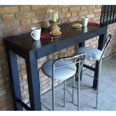 Mesa barra desayunador mesa de arrime recibidor mesas for Mesa barra cocina