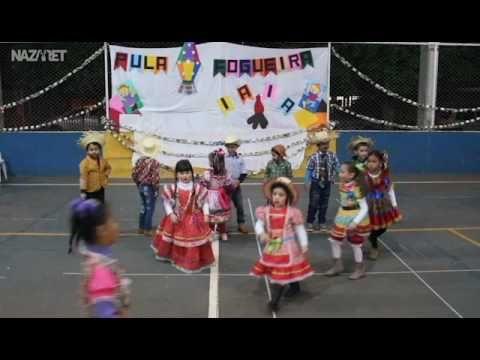 Apresentacao Dos Alunos Da Educacao Infantil 3 Na Festa Junina Da