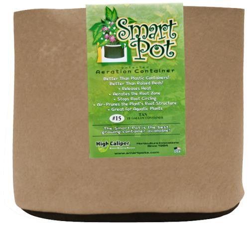 Smart Pot Tan 15 Gallon (50/Cs)