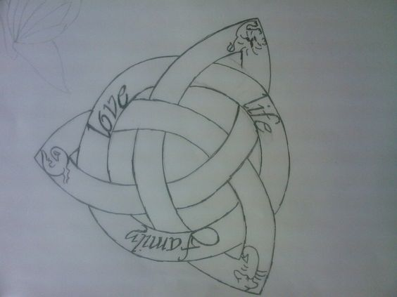 Celtic symbol for family tattoo ideas pinterest for Family symbol tattoos