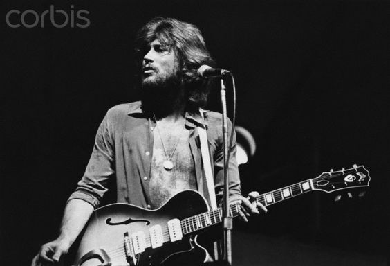 Barry Gibb of the Bee Gees
