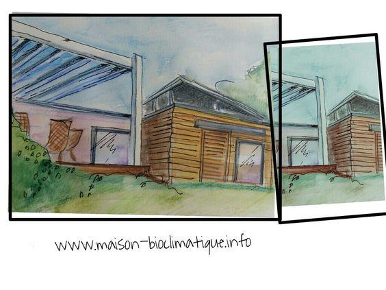 avantages bioclimatique maison bois Travaux, extension