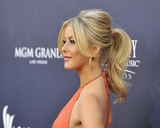 Classy ponytail