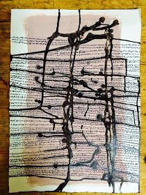The New Post-literate: A Gallery Of Asemic Writing: 1 from Lucinda Sherlock‎