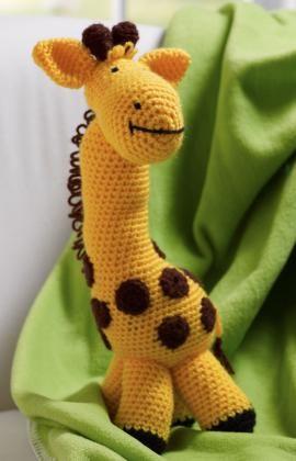 Cuddly Amigurumi Giraffe : Giraffe toy, Giraffes and Toys on Pinterest