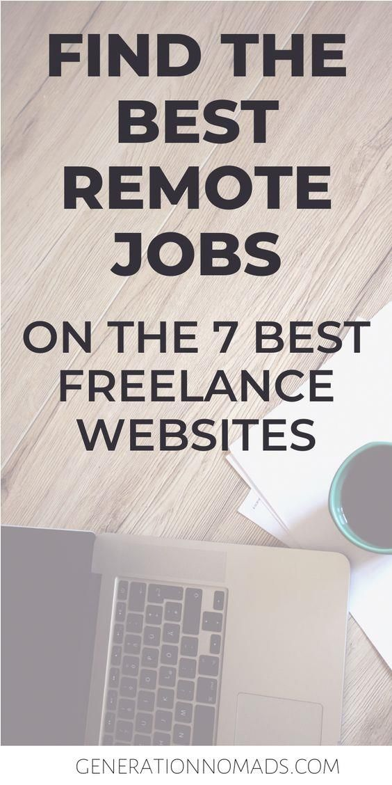 When Starting To Look For Remote Work There Are Many Freelancing Websites You Can Choose Whether You Want To Start Remote Jobs Remote Work Freelancer Website
