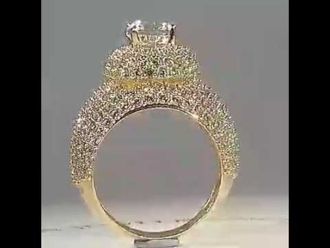 12 Crazy Diamond Ring 1 Carat Diamond Ring On Finger Hand 2 Ct Siz Youtu Expensive Engagement Rings Expensive Diamond Rings Most Expensive Engagement Ring